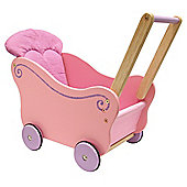 I'M Toy Dollie Pram, wooden toy