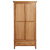 Hampstead 2 Door Wardrobe, Oak