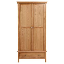 Hampstead Double Wardrobe, Oak