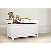 Tutti Bambini Barcelona Toy Box White Beech Finish