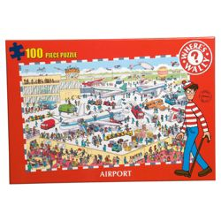 Wheres Wally Kids Puzzles-Airport
