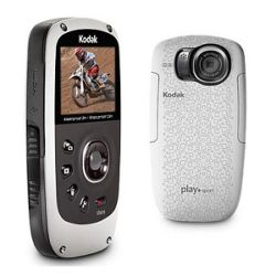 Kodak PlaySport Zx5 (White), Full HD 1080P, Waterproof, Dustproof and Shockproof