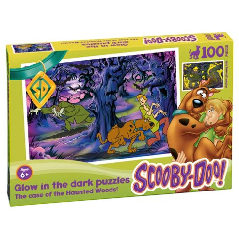 Scooby Doo Glow in the Dark Haunted Woods 100 piece puzzle