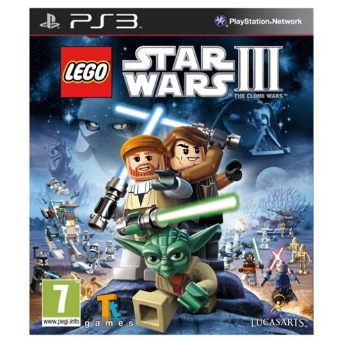 Lego Star Wars 3 (PS3)