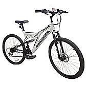 "Muddyfox Charge 26"" Dual Suspension Adult Mountain Bike – Men's"