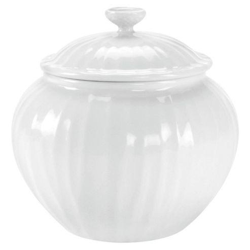 Sophie Conran White Oak Covered Sugar Bowl