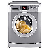 Beko WMB81241LS Washing Machine, 8kg Wash Load, 1200 RPM Spin, A+ Energy Rating. Silver