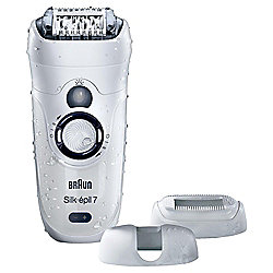 Braun Silk-Epil 7 7-531 Wet & Dry Epilator with 3 Attachments