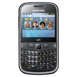 Tesco Mobile Samsung Ch@t 335 Metallic Black
