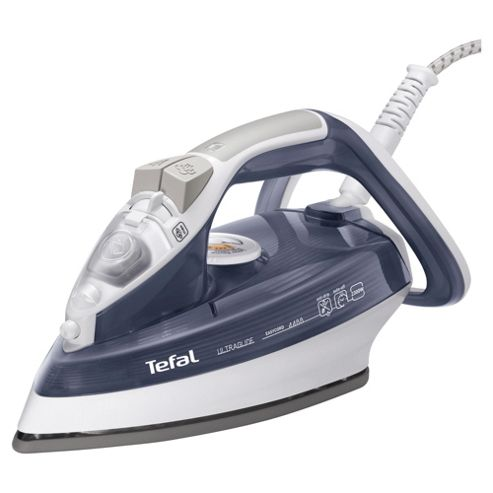 Tefal FV4488G0 Auto Shut Off Steam Iron with Ceramic Plate - Grey