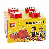 LEGO Storage Brick 4 Red