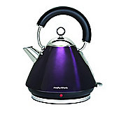 Morphy Richards 43769 1.5L Accents Traditional Pyramid Kettle - Plum