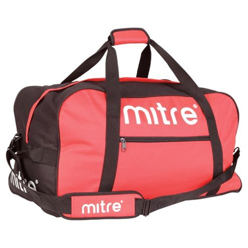 Mitre Sports Gym Kit Bag Holdall, Light Red