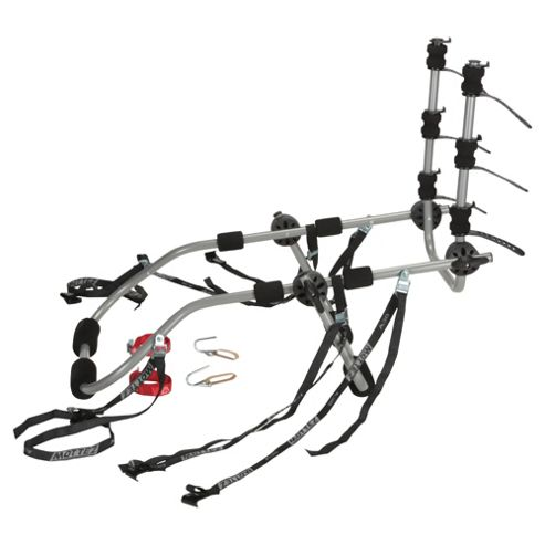 Mottez A014PCAD High Mount 3 Bike Carrier