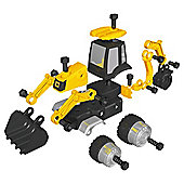 JCB Multi Construct Backhoe Construction Toy- Assortment – Colours & Styles May Vary