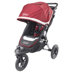 Baby Jogger Elite 3 Wheeler Pushchair, Red Sport