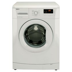 Beko WMB61431W Washing Machine, 6kg Wash Load, 1400 RPM Spin, A+ Energy Rating. White
