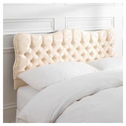 Marilyn Double Headboard, Oyster