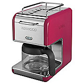 Kenwood K-Mix CM029  Boutique Coffee Machine - Pink Filter
