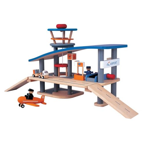 Plan Toys Airport Wooden Toy
