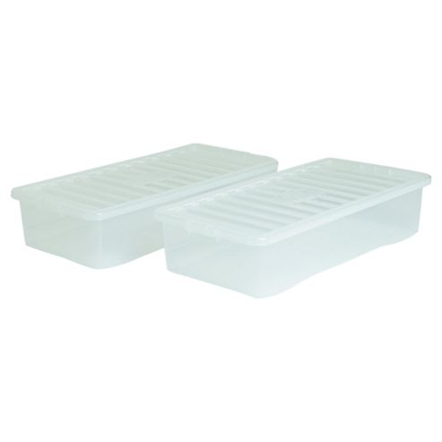42L Box, 2 pack clear