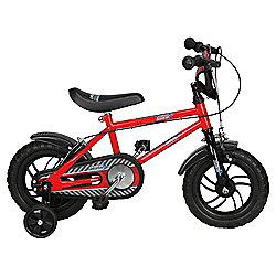 "Urban Racers 12"" Kids' Bike with Stabilisers"