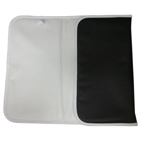 Tesco Travel Changing Mat, Black & White