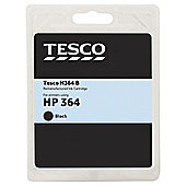 Tesco H364B Black Printer Ink Cartridge (Compatible with printers using HP 364 Black Printer Ink Cartridge)