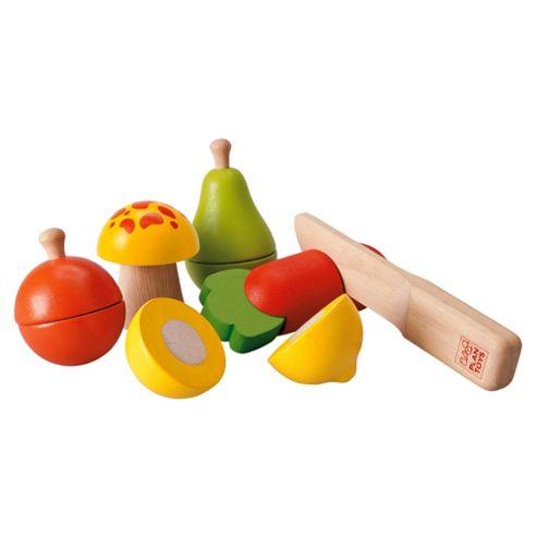 Plan Toys Fruit & Veg Wooden Toy Set