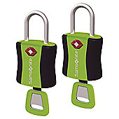 Samsonite TSA Air Key Locks, Green set of 2