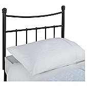 Seetall Lilly Headboard Black Single