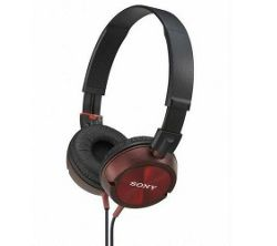 Sony MDR ZX300/RED - Headphones ( ear-cup ) - red