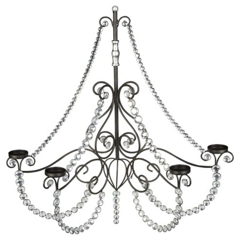 Tesco 4 Arm Metal Chandelier