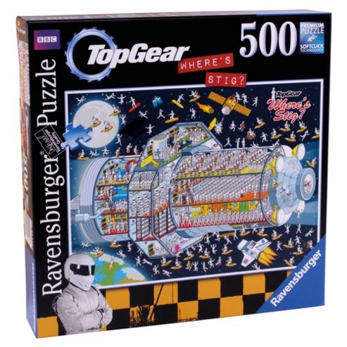 Top Gear Wheres Stig, Stigs In Space 500 Piece Jigsaw Puzzle- Assortment – Colours & Styles May Vary