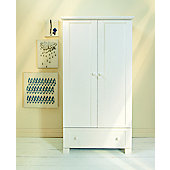 East Coast Montreal Double Wardrobe, White