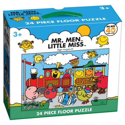 Mr Men 24 piece Floor Puzzle