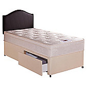 Airsprung Danbury Deep Ortho Cushion Top Small Double 2 Drawer Divan Bed