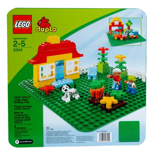 LEGO DUPLO Large Green Building Plate 2304