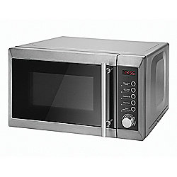 Tesco Microwave Oven with Grill, 20L - Silver