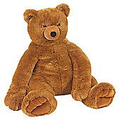 Melissa & Doug Jumbo Brown Teddy Bear Giant Soft Toy