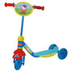 Peppa Pig 3-Wheel Tri Scooter