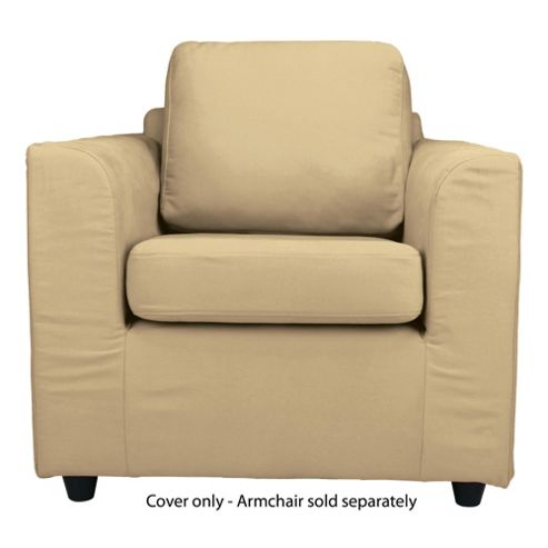 Ashley Loose Cover For Armchair, Sand
