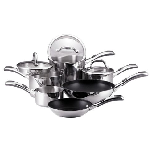 Meyer Select 6 piece Stainless Steel Pan Set
