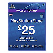 £25 PlayStation Network Card