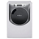 Hotpoint Aqualtis AQ113L297E Washing Machine, 11kg Wash Load, 1200 RPM Spin, A++ Energy Rating. White Titanium