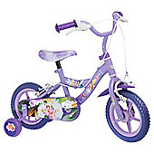"Disney Fairies 12"" Kids' Bike - with stabilisers"