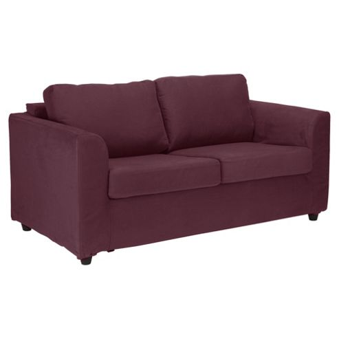 Ashley Loose Cover For Medium Sofa, Aubergine