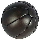 Golds Gym Heritage 5Kg Leather Medicine Ball
