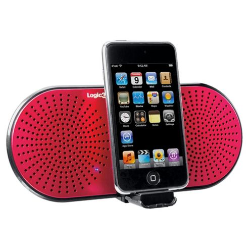 Logic3 I-Stationgo Hold Audio Device - Pink