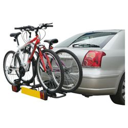 Mottez A019P2 Folding Platform 2 Bike Carrier